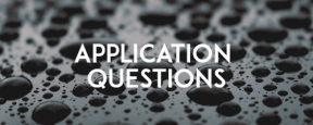 Application Questions Banner