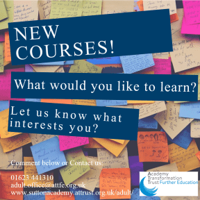New Course interest