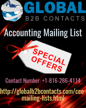 accounting mailing list