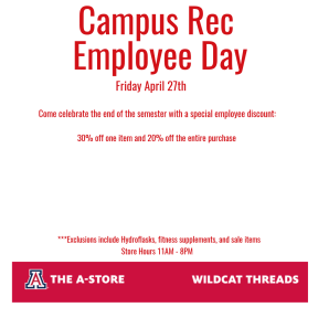 Campus Rec Employee Day
