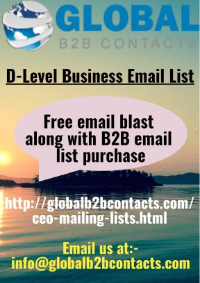 D-Level Business Email List
