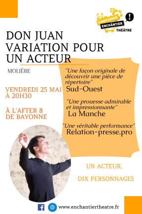 Affiche Enchântier Théâtre