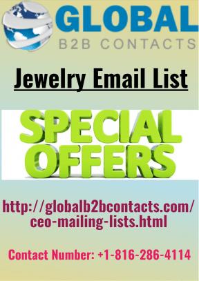 Jewelry Email List