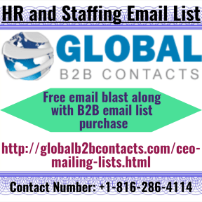 HR and Staffing Email List