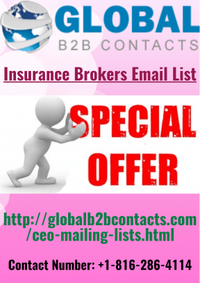 Insurance Brokers Email List