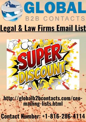 Legal & Law Firms Email List