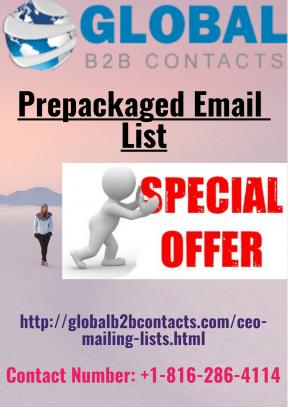 Prepackaged Email List
