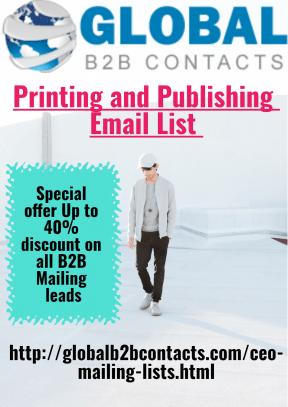 Printing and Publishing Email List