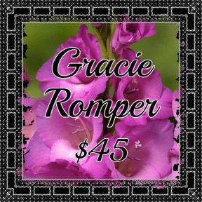 Gracie Romper Purple