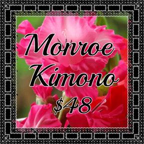 Monroe Kimono pink
