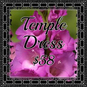 Temple Dress Purple