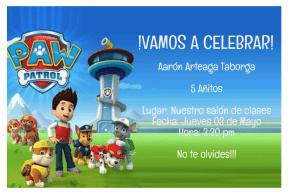 INVITACION AARON ARTEAGA