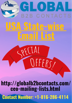 USA State-wise Email List