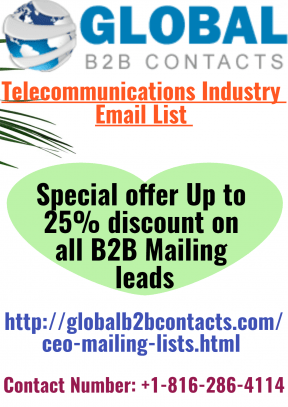 Untitled design Telecommunications Industry Email List