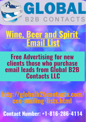 Wine, Beer and Spirit Email List