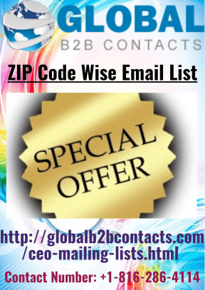 ZIP Code Wise Email List