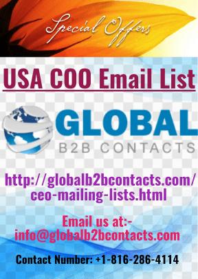 USA COO Email List