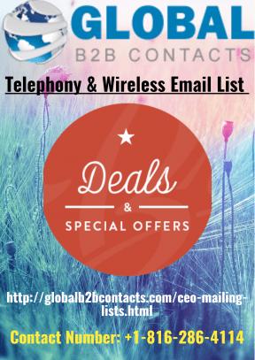 Telephony & Wireless Email List