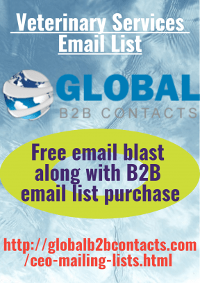 Veterinary Services Email List