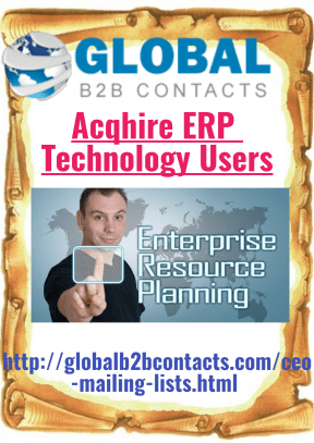 Acqhire ERP Technology Users