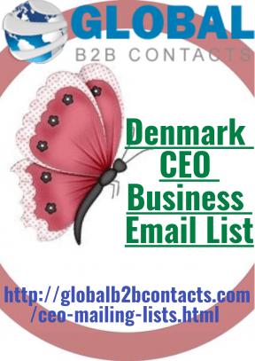 Denmark CEO Business Email List