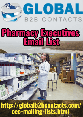 Pharmacy Executives Email List