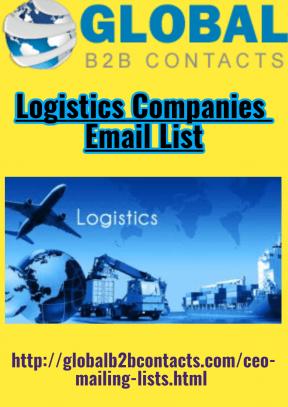 Logistics Companies Email List