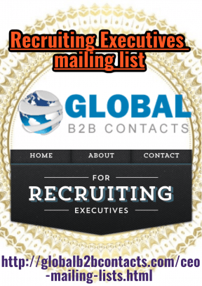 Recruiting Executives mailing list