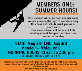 members only hours