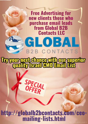 Try your next chance with our superior qualityIsrael CMO Email List