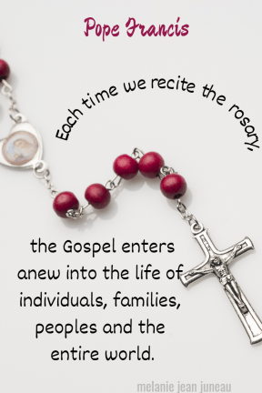 each time we recite the rosary