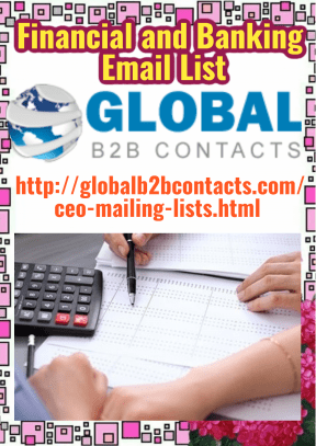 Financial and Banking Email List
