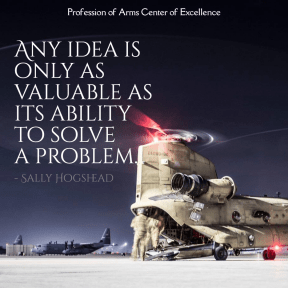 Any Idea Is Only As Valuable as it's ability to solve a problem