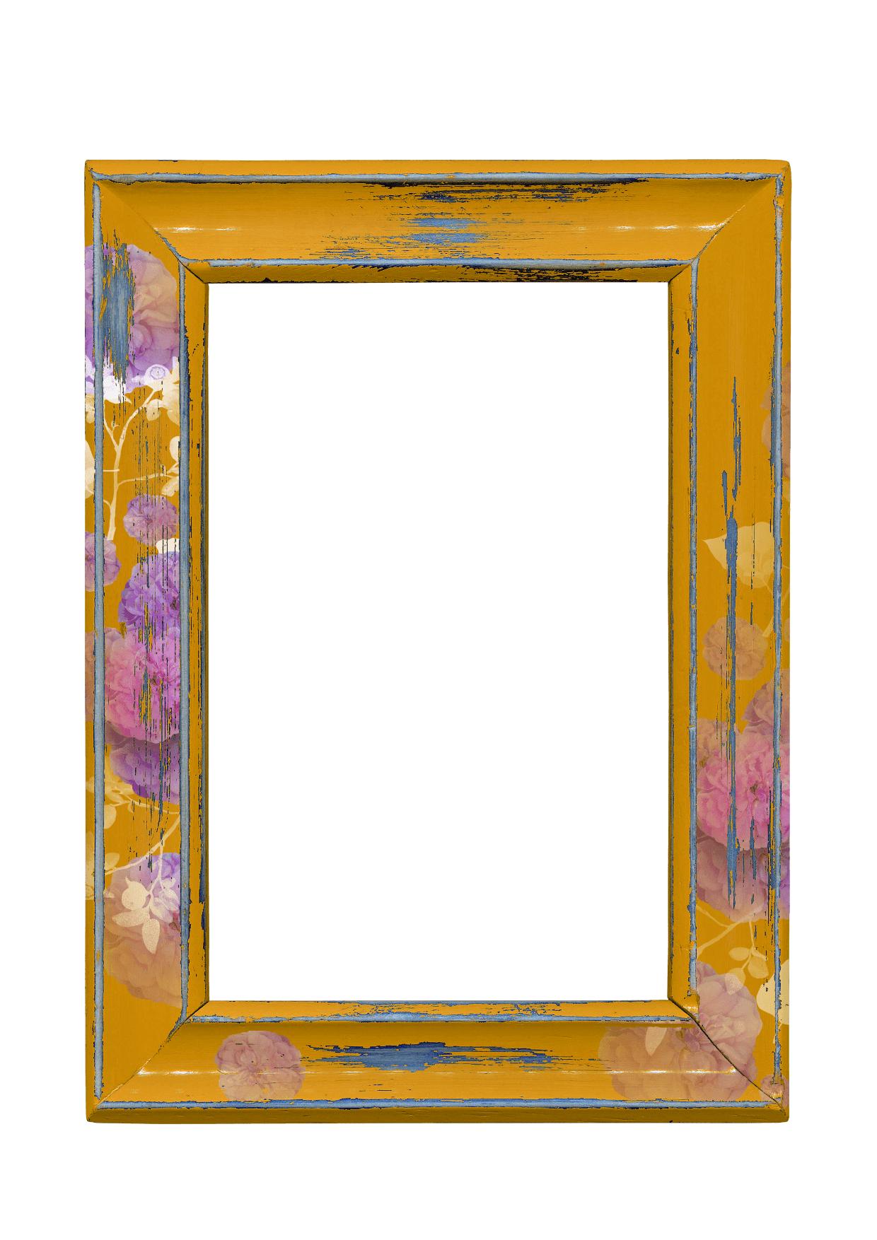 Frame,                White,                Yellow,                 Free Image