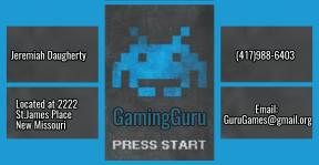GuruGaming Card