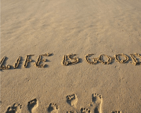 Life is good when...
