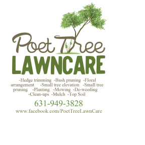 Poet Tree Lawn Care LOGO w/phone number