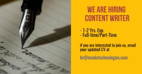 content-writer-needed