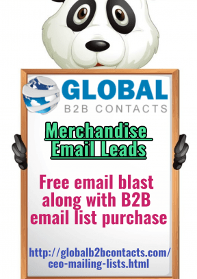 Merchandise Email Leads