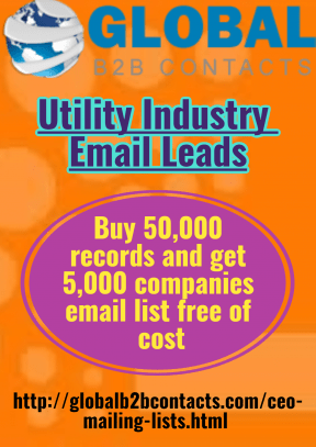 Utility Industry Email Leads