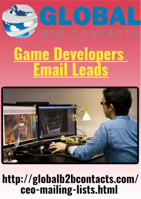 Game Developers Email Leads