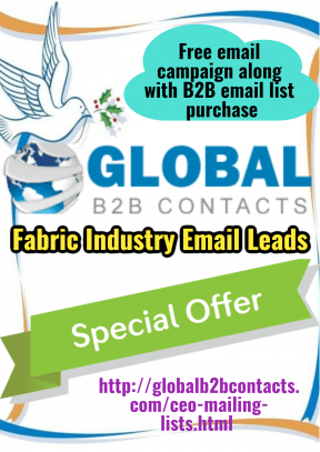 Fabric Industry Email Leads