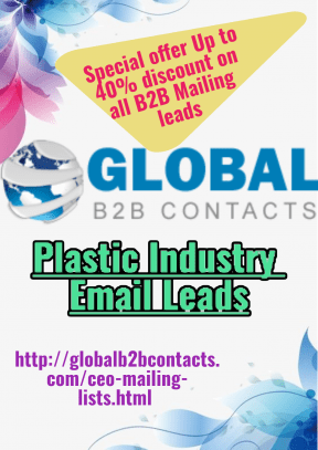 Plastic Industry Email Leads