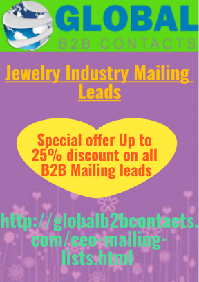 Jewelry Industry Mailing Leads