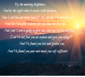 The morning Brightness