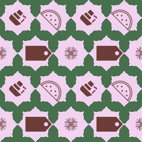 Pattern Design - #IconPattern #PatternBackground #navigation #background #tag #bands #tool #florets