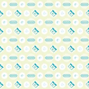 Pattern Design - #IconPattern #PatternBackground #rectangles #stats #food #raggedborders #graph #frame