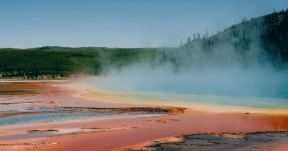 Photo - #Photography #Photo #geyser #of #state #water #Yellowstone #with #spring