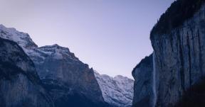 Photo - #Photography #Photo #alps #glacial #ridge #landforms #cliff #sky