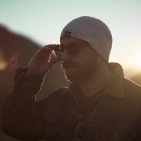 Photo - #Photography #Photo #beanie #photography #with #microphone #adjusts #sky